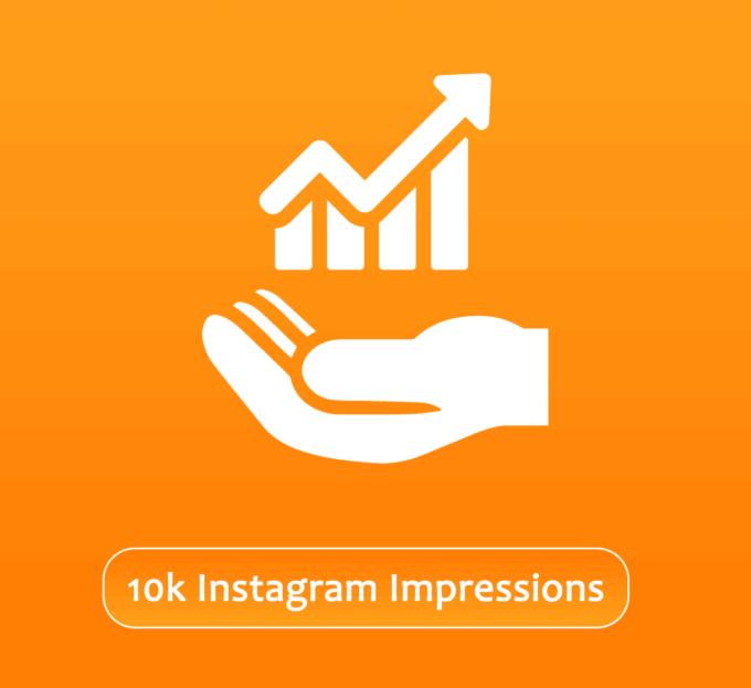 Buy 10000 Instagram Impressions