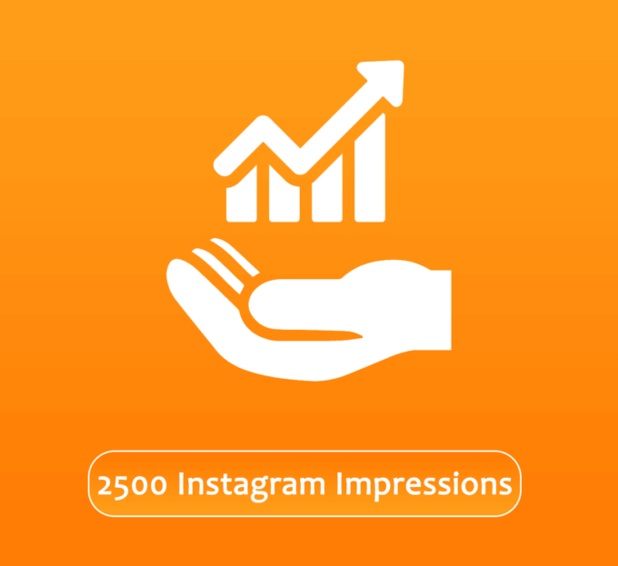Buy 2500 Instagram Impressions