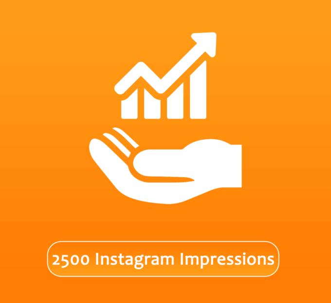 Buy 2500 Instagram Impressions