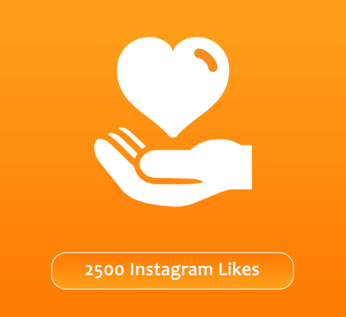 Buy 2500 Instagram Likes